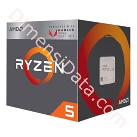 Jual Processor AMD Ryzen 5 2400G With Radeon Vega 11 Graphics [YD2400C5FBBOX]